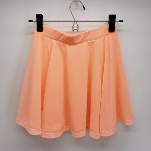 Divided | Flowy Skater Skirt | Orange